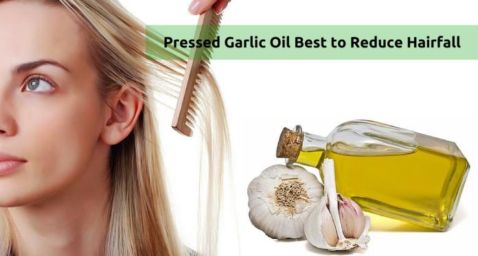 Pressed Garlic Oil Best to Reduce